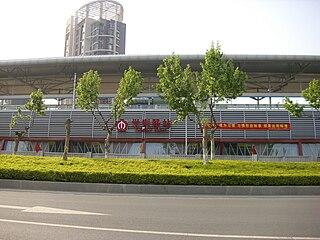 Xuezelu station Nanjing Metro station