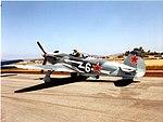 Yakovlev Yak-9 Yakovlev Yak-9UM N529SB Gillespie Field May03 3 (16963680238).jpg