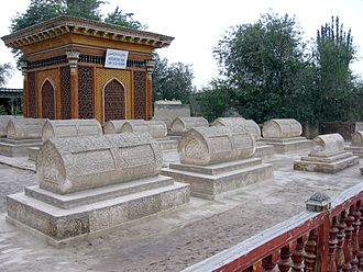 Yarkant County - Tombs of Yarkand Khans (near the Altyn Mosque)