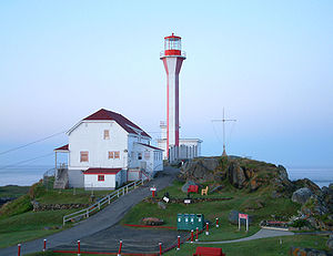 Cape Forchu, Nova Scotia - The Cape Forchu Lighthouse