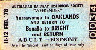 Oaklands railway line, Victoria