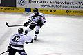 Yasin Ehliz 42 Kyle Klubertanz 49 Nürnberg Ice Tigers O2-World 15.02.2015 cc by denis apel.jpg