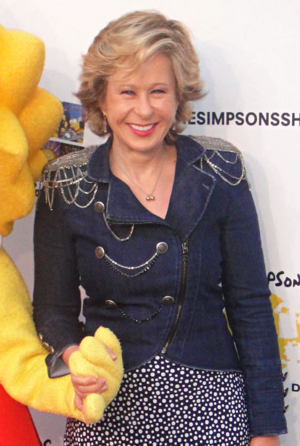 Yeardley Smith - Smith at the ''Simpsons'' 500th Episode Marathon, February 2012