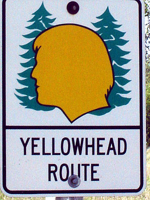 Crowsnest Highway - Image: Yellowhead Shield