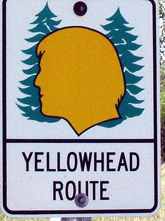 Stewart–Cassiar Highway - Image: Yellowhead Shield