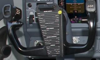 Yoke (aeronautics) aircraft component