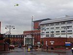 Yorkshire Air Ambulance landing at Leeds General Infirmary (20th October 2016) 001.jpg