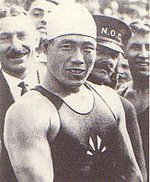 Japan at the 1928 Summer Olympics - Tsuruta:Gold Medalist of Man's 200m Breaststroke at the 1928 Amsterdam Olympic Games