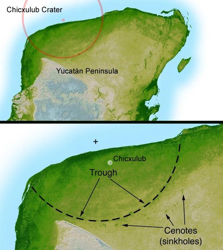Yucatan chix crater