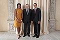 Yves Leterme with Obamas.jpg