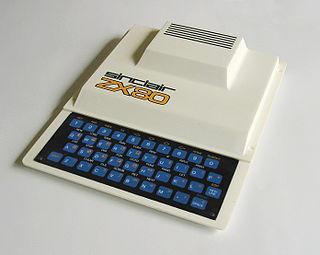 ZX80 home computer