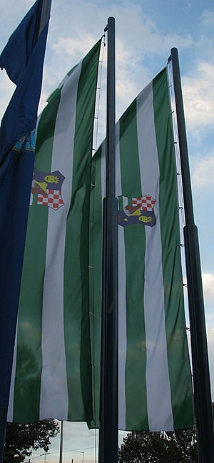Zagreb County - Flags of Zagreb County