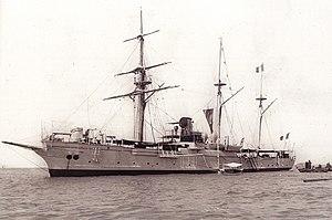 French gunboat Zélée - Image: Zelee