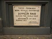 Zeppelin Building plaque