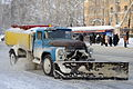 ZiL-130-based snow removal vehicle in Tomsk.JPG