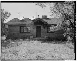 Zion National Park, East Ranger's House, Springdale, Washington County, UT HABS UTAH,27-SPDA.V,7H-2.tif