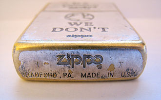 Zippo - Zippo lighter produced in September 1994