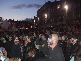 Zombie walk - Nottingham Zombie Walk in 2008