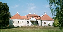 Landsitz der Familie Esterházy in Zselíz (Quelle: Wikimedia)