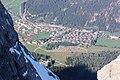 Zugspitze, Blick auf Ehrwald.JPG