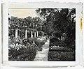 """Chatham,"" Colonel Daniel Bradford Devore house, 120 Chatham Lane, Fredericksburg, Stafford County, Virginia. East flower garden pergola LCCN2008679206.jpg"