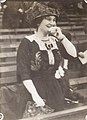 """""""Mrs. Britton when her team is winning."""" (Helene Britton, owner of the St. Louis Cardinals from 1911-1918, enjoying a game at Robison Field).jpg"""