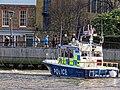'Sir Robert Peel II' Metropolitan Police Boat near Bankside Pier, River Thames 01.jpg