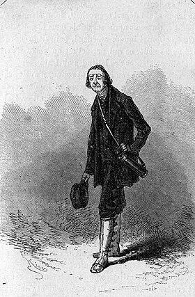 Jaques Paganel par Édouard Riou (1868)