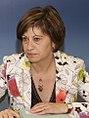 (Elena Espinosa) Fernández de la Vega preside la reunión de la Comisión Delegada del Gobierno para el Cambio Climático. Pool Moncloa. 20 de julio de 2009 (cropped).jpeg