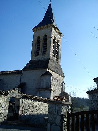 Anthé - The church in Anthé