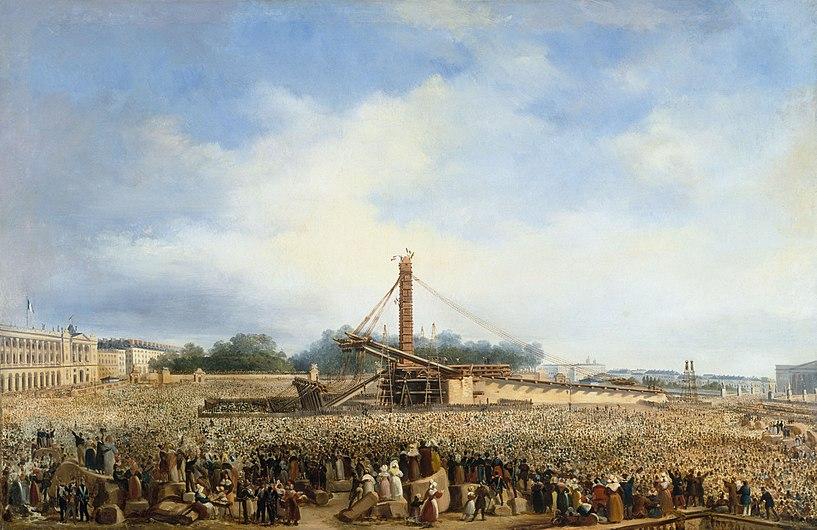 Érection de l'obélisque de Louqsor sur la place de la Concorde.jpg
