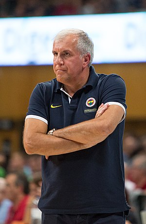 Alexander Gomelsky EuroLeague Coach of the Year - Željko Obradović is a 3 time EuroLeague Coach of the Year (2007, 2011, and 2017).