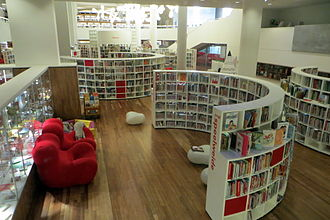 Openbare Bibliotheek Amsterdam - Children's book section of the Central Library