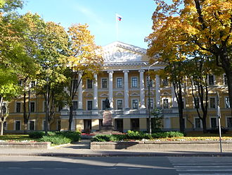 Pskov Oblast - Seat of the Pskov Administration and parliament, House of the Soviets