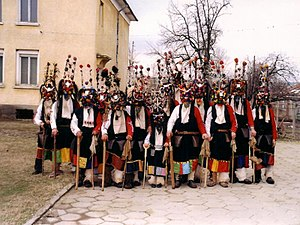 Bulgarians - Kukeri from the area of Burgas