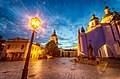 Михайлівський Золотоверхий монастир з вечірнім освітленням.jpg