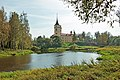 Парк Мариенталь в Павловске. Крепость Бип на берегу Мариентальского пруда 1.jpg