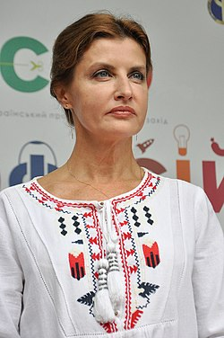 Марина Порошенко на дитячому соціальному профорієнтаційному проекті «Місто професій» у Тернополі 20 вересня 2015