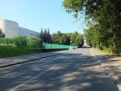 How to get to Улица Святослава Рихтера with public transit - About the place