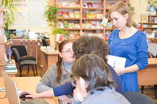 Хмельницький, тренінг у бібліотеці «Бібліотекарі ілюструють Вікіпедію», фото №165