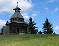 Хохловка. Башня сторожевая из села Торговище Суксунского района.jpg