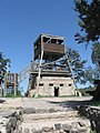 תל שמרון, מצפה קקל על מצפה בריטי 22.3.14.JPG