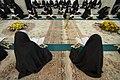 عکس های مراسم ترتیل خوانی یا جزء خوانی یا قرائت قرآن در ایام ماه رمضان در حرم فاطمه معصومه در شهر قم 11.jpg