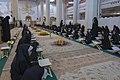 عکس های مراسم ترتیل خوانی یا جزء خوانی یا قرائت قرآن در ایام ماه رمضان در حرم فاطمه معصومه در شهر قم 12.jpg