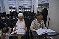 عکس های مراسم ترتیل خوانی یا جزء خوانی یا قرائت قرآن در ایام ماه رمضان در حرم فاطمه معصومه در شهر قم 49.jpg