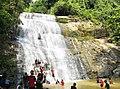 খৈয়াছড়া ঝর্ণার ২য় ক্যাসকেড - Khaiyachora Waterfalls 2nd Cascade.jpg
