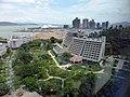 ヒルトン深セン蛇口南海酒店から見た蛇口クルーズセンター全景.jpg