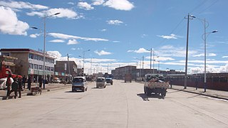 Nagqu Town Town in Tibet Autonomous Region, Peoples Republic of China