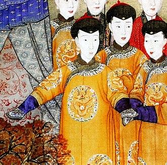 Empress Xiaoyichun - Image: 令妃