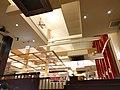 屋内の天井の造りが凝っている王将 肉まん 2016 (29570573966).jpg